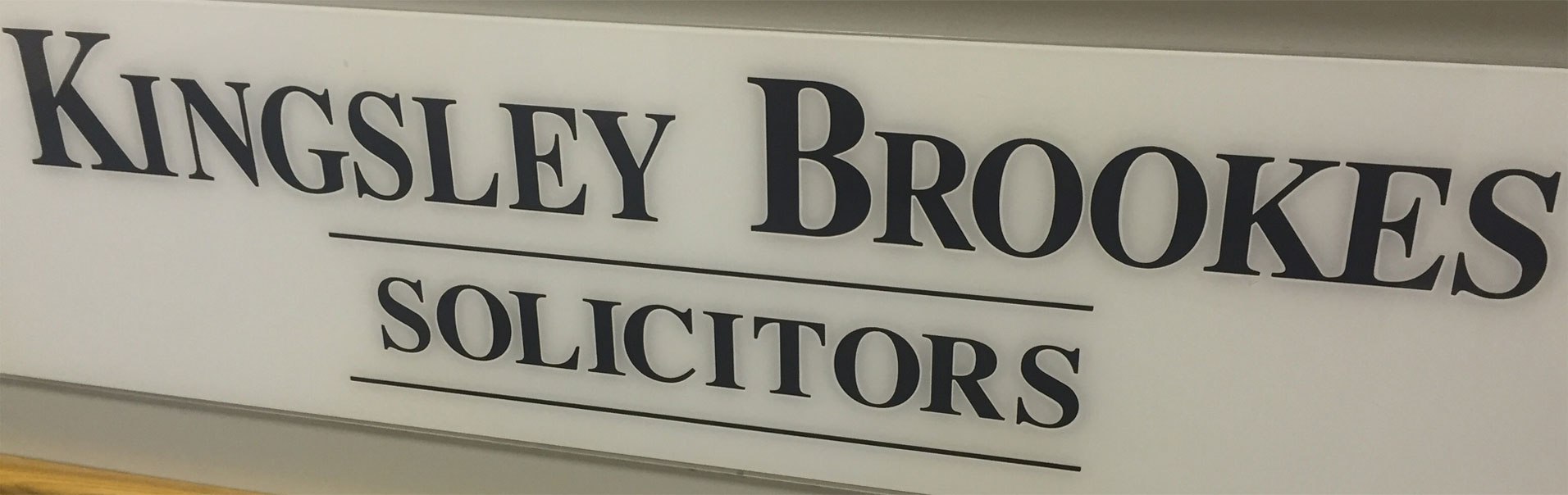 Kingsley Brookes Solicitors logo